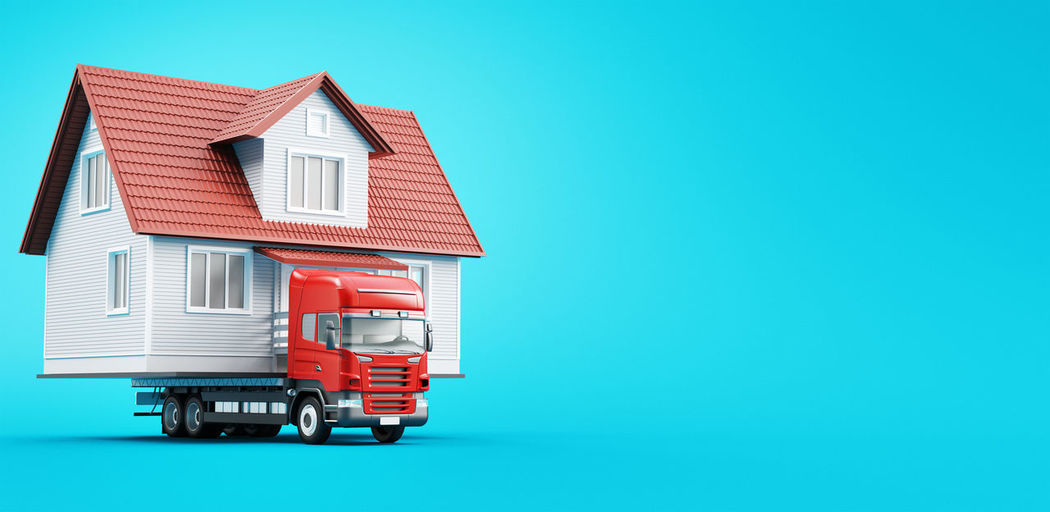 House on truck, travel house, new home BIG Modern Architecture Red Transport Travel Traveling Traveling Home for the Holidays Architecture Bridge Building Exterior Built Structure Day House Mobile Home Mobile House No People Outdoors Sky Truck Villa White House Wood House