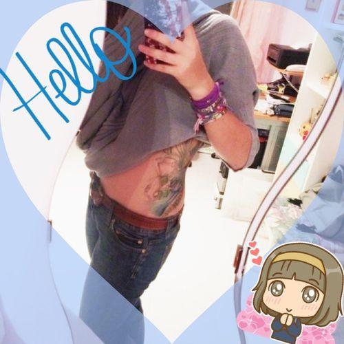 HI my babe❤️❤️❤️??? Tattooed Girl Tattoo Love