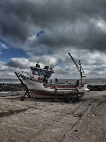 La Santa Boat Abandoned Fishing Boat Pesquero Barco Lanzarote Canary Islands Islas Canarias