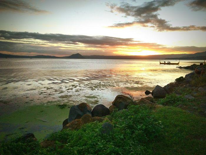 Sea Sunset Beach Water Nature Beauty In Nature Sky Sand Outdoors Travelgram Cloud - Sky Wheninbatangas