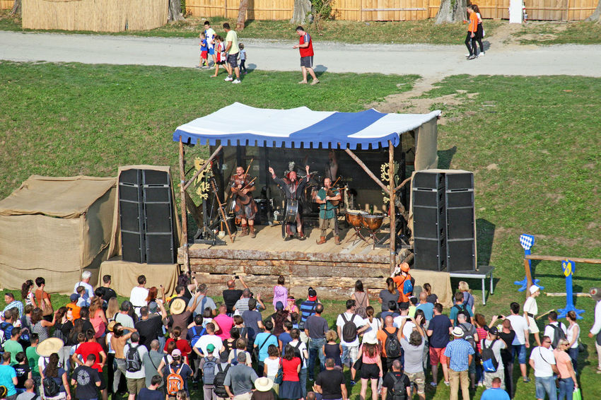 Furunkulus,band on stage of Renaissance Festival Koprivnica,Croatia,Europe, 2016.,5 Band Costumes Croatia Day Entertainment Eu Europe Fair Fancy Festival Furunkulus Germany Group Koprivnica Medieval Music Musicians Performance Renaissance Festival Show Sound Stage Summer