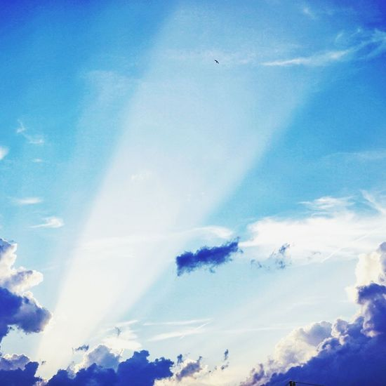 Cloud - Sky Sky Blue Nature Sunbeam Sunset