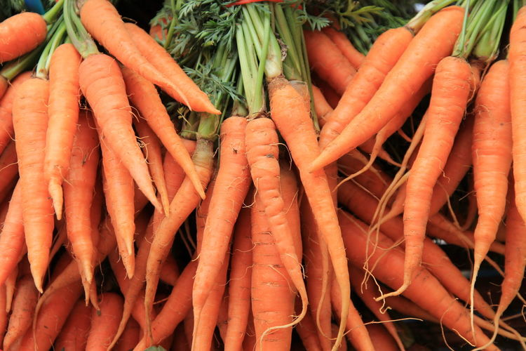 Carrot Farmer Market Food For Sale Freshness Healthy Eating Market Market Stall No People Orange Color Root Vegetable Vegetable