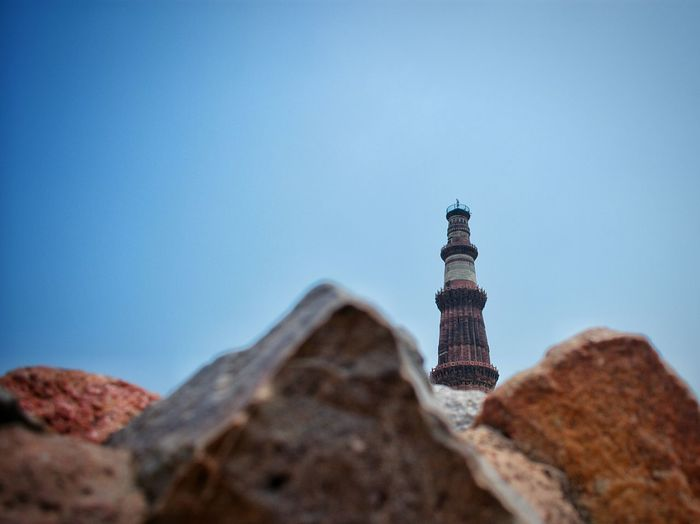 Qutub Minar QutubMinar Qutub Minar, New Delhi Qutub Minar Incredible India Incredibleindia Travel Destinations Travel Photography EyeEm Best Shots EyeEmNewHere EyeEm Selects Nikon D3400 Nikonphotography Architecture_collection Architectural Detail Architectural Detail Clear Sky Sand Dune Blue Sky Architecture Building Exterior Built Structure Skyscraper Rock Formation Rocky Mountains The Architect - 2018 EyeEm Awards