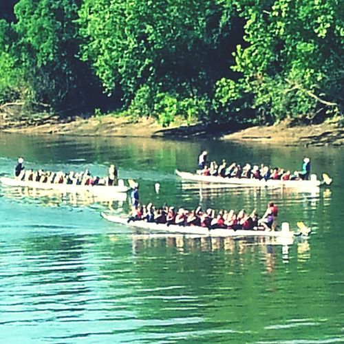 Watching the dragonboat races Enjoying The Sights Nice Views EyeEmBestPics Eye4photography  Skills  Simple Photography Water Chattahoochee River Dragonboatraces Races Crewlife Crew Rowing Festival My Perspective FIRST PLACE! Riverbank