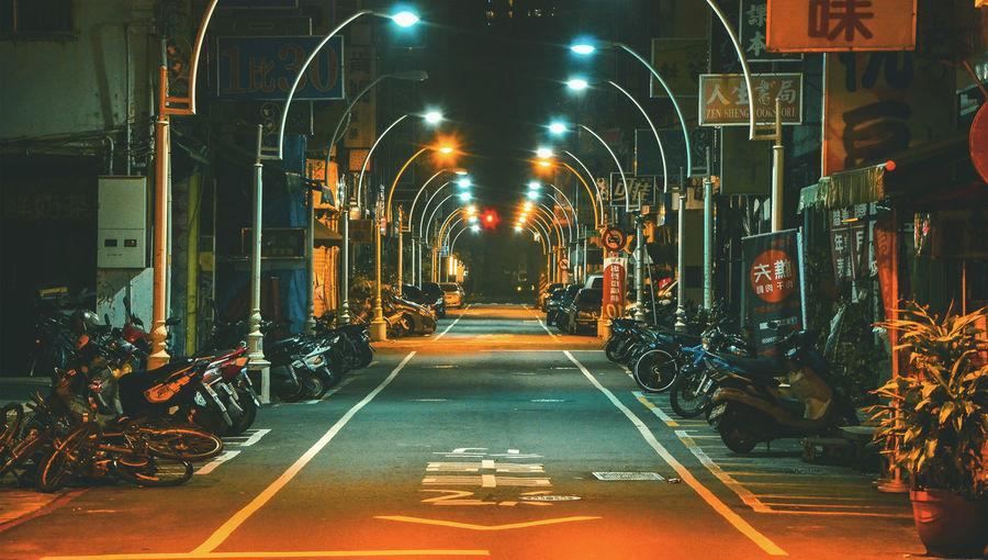 City at night,