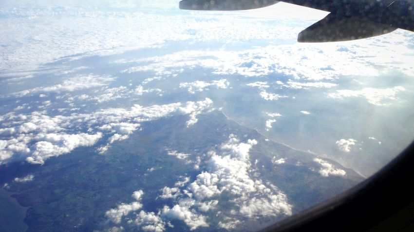 sky and clouds Avion Plane Window Beauty WOW Wonderful Magnificent Travel Top Map Winter Cold Temperature Snow Nature Frozen Water Day Outdoors Tranquility Shadow Scenics Beauty In Nature Sunlight Landscape Flat No People Beach Sea Sky