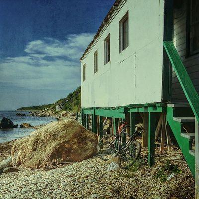 Last days of Summer Beach Summer Longislandphotographers Emptyspaces Longislandinstagram Longisland Bike Instagram