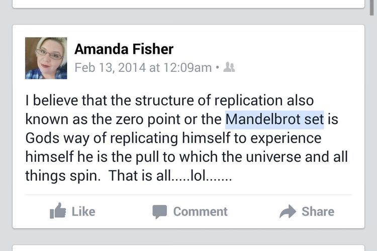 Throw back random status from enlightened thought. Quotes♡ That's Me Fb Status Understanding Life Herehere Favoritethings Quote Of The Day  Mandelbrot Set Mandelbrot Project Happy