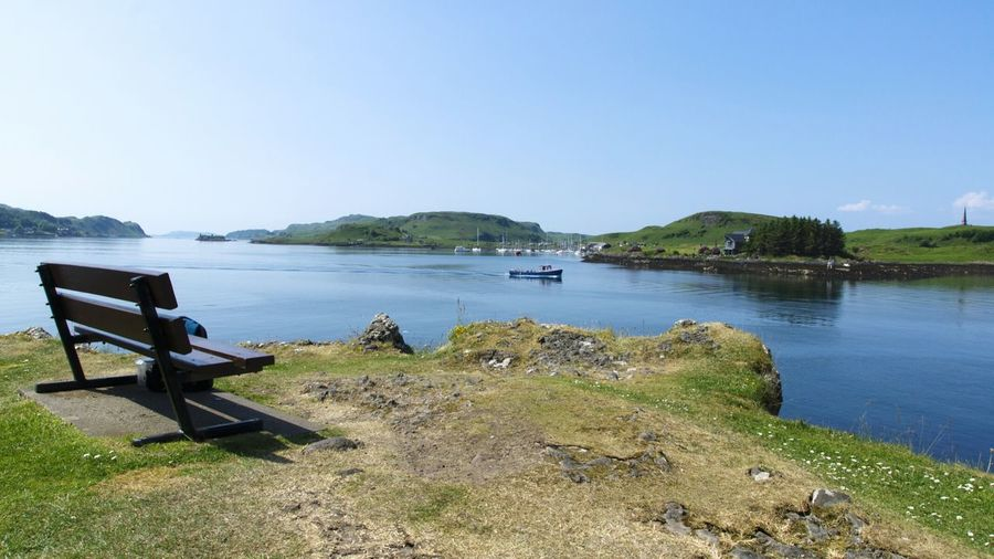 The harbour of Oban. A beautiful and peaceful fishingtown at the west coast of Scotland. Holiday2016 Fishingtown Scotland Oban Scotland Wild Landscape Harbour Scottish Coast Atlanticocean Panoramic Panoramic View Panoramic Landscape Beautyful Nature Wilderness Beauty In Nature Picturesque Peaceful Naturephotographer Nature Photography Nature_perfection Hiking Backpacker