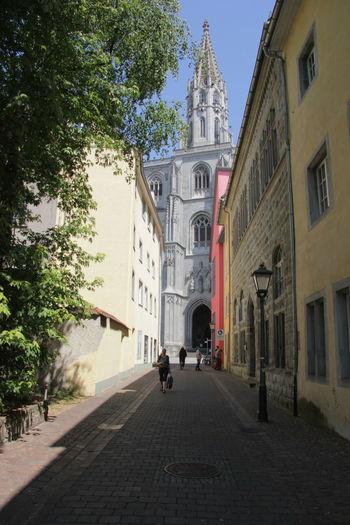 Architecture Church Church City Life Constance Deutschland Germany Konstanz Quiet Street Tourism Urban