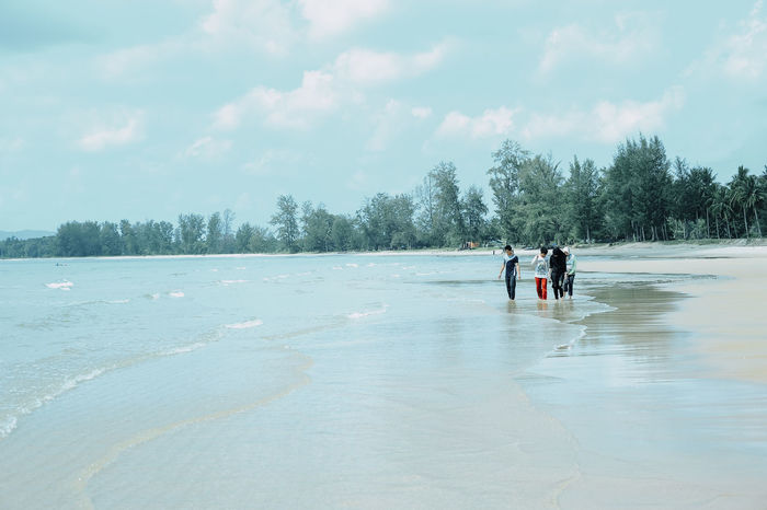 Beach Day Cloud - Sky People Landscape Sky Nature Tree Child Smiling EyeEm Selects Asian Culture Photography In Motion Cheratingbeach Cherating Pahang Beach Holiday Torist Destination Beach Sand & Sea Playsand Wedding PhotographySand Outdoors Adult Day