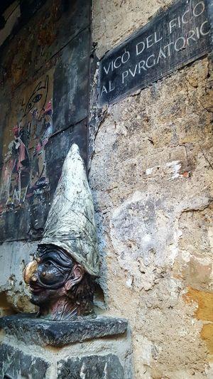 Napule mille culure Napoli ❤ Pulcinella Vicoli Di Napoli Colori Arte Urbano