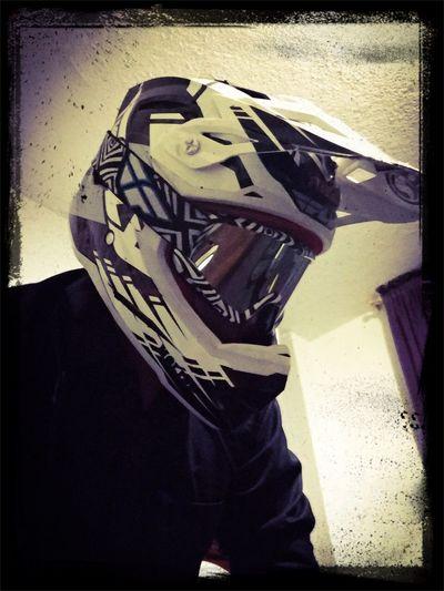 RIde or die!! mMotocrossmMotorcycle Helmet