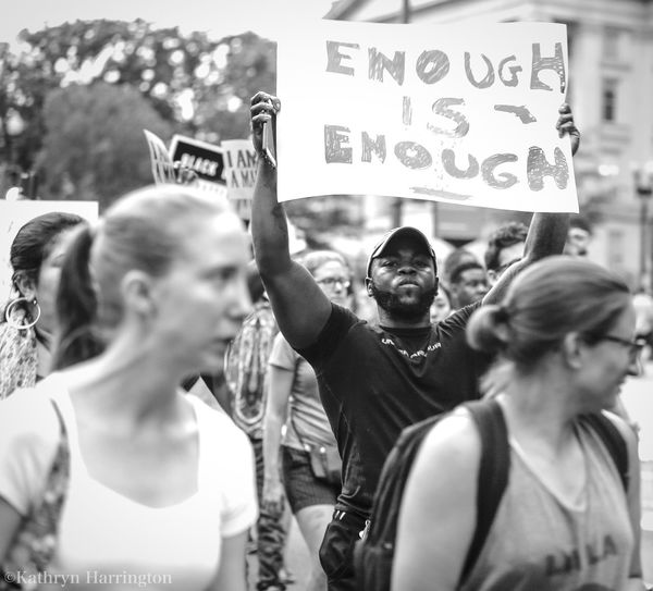 Blm Enoughisenough Protest Blackandwhite Crowd Washington, D. C. Altonsterling Philandocastile Justice Portrait