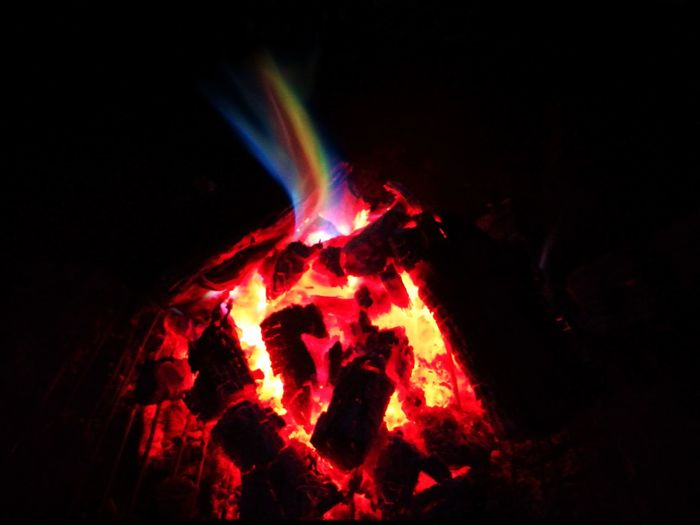 Heat - Temperature Burning Flame Close-up Night Lava Outdoors Fire Fire Rainbow Firewood Fire And Flames Fire Pit Rainbow Fire Braai