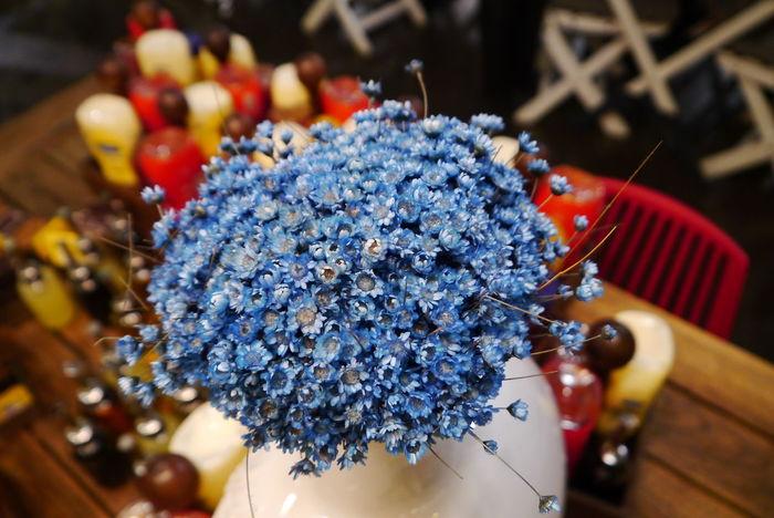Interior Interior Design Blue Flower
