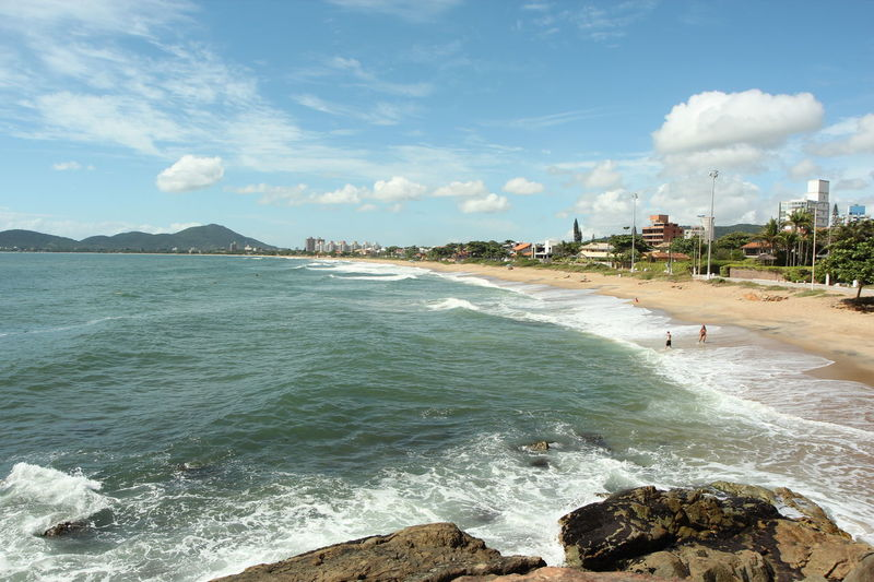 Beautiful beach in southern Brazil Beach Brazil Ocean Penha Sand Sand & Sea Santa Catarina Santa Catarina Brazil Santa Catarina, Brazil Sky And Clouds Tropical Tropical Paradise Waves Waves And Rocks Waves Crashing Waves Crashing On Rocks Waves, Ocean, Nature