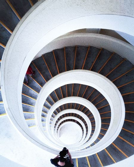 Staircase Steps And Staircases Spiral High Angle View Indoors  Architecture The Architect - 2018 EyeEm Awards