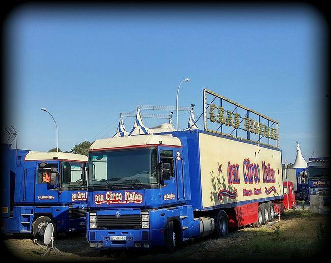 Camiones del circo italiano en laredo Spain ✈️🇪🇸 Verano2015 Laredo Cantabria Spain Norte De España Hello World