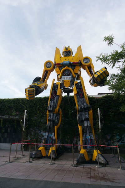Giant Kaohsiung Kaohsiung, Taiwan Outdoors Ready To Fight Taiwan Tall Transformer Human Meets Technology The Street Photographer - 2016 EyeEm Awards Envision The Future 43 Golden Moments