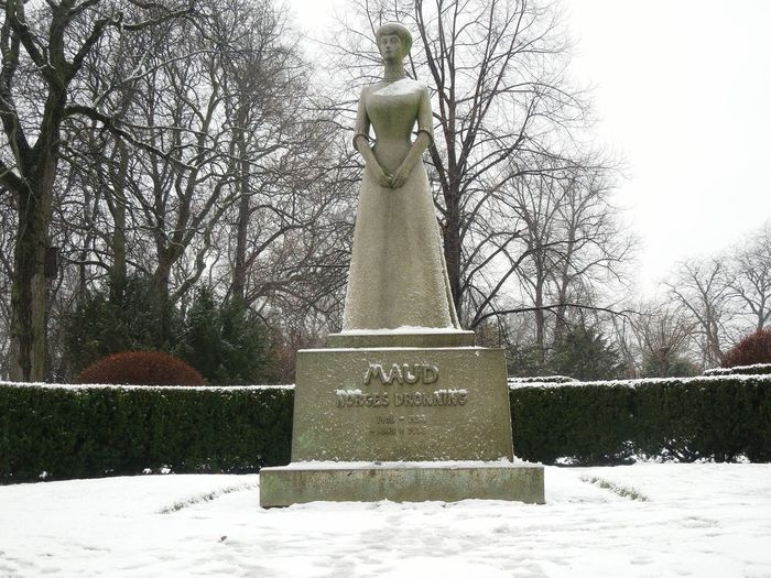 Oslo Norway Scandinavia Winter Princess Maud Europe Enjoying Life Snowing Followme