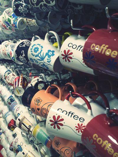 """Coffee & Tea Mugs"" Mugs CoffeeMugs Teamugs Colorfull"