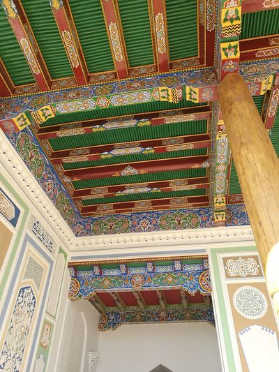 Samarkand EyeEm Selects Aincient Ornate Pattern Indoors  Travel Destinations Low Angle View