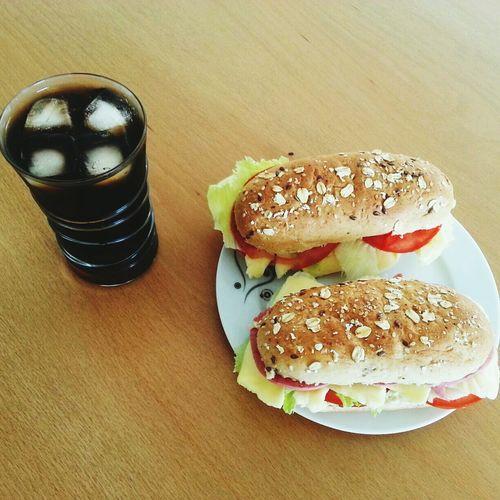 Sandviç bizim işimiz :) Kitchen Art Making A Sandwich In Adana