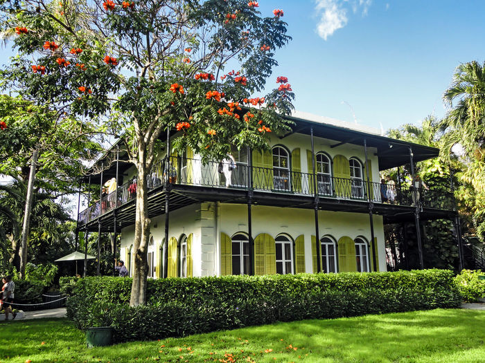 Ernest Hemingway House Archetecture Author Ernest Hemingway Famous Florida Historic Homes History Home House Key West Museum