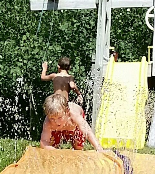 Bonzai Kids Fun❤❤ Summer2015 Slipnslide