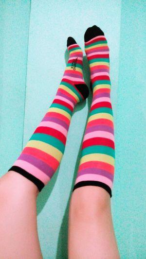 Legs Legs Up Socks Colorful Art Creativity Colorful Socks Model Type Photography Camera Phone Long Legs Neon Life EyeEmNewHere