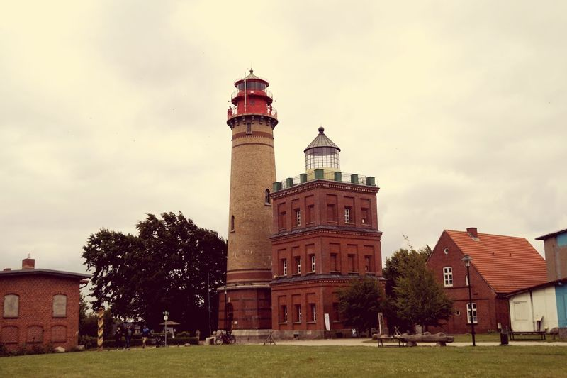 Built Structure Lighthouse Tower Architecture Outdoors Tall - High Cloud - Sky