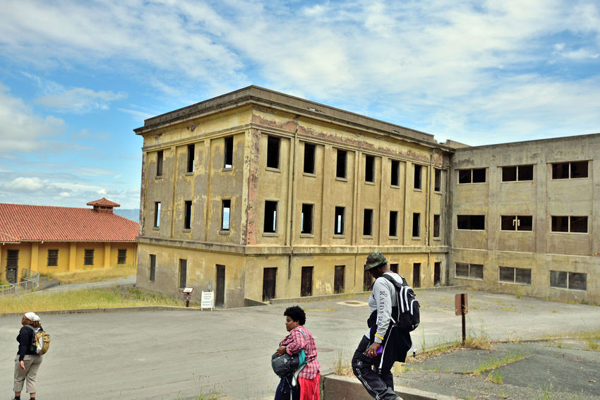 Fort McDowell_East Garrison @ Angel Island 2 San Francisco Bay 600-man Barracks Due To Overcrowding Became 1,000-man Barracks Camp Reynolds Till Renamed 1900 New Construction Began 1910 Military Housing Built By Military Prison Labor From Alcatraz Old Camp Know As West Garrison Army Processed 4,000 Men Monthly During WWI Recruit Depot For Men Entering Army Enlisted Men Returning Were Processed Here Architecture Architecture_collection Landscape Architecture Photography Landscape_lovers Landscape_Collection Landscape_photography Architectural Detail Military Base