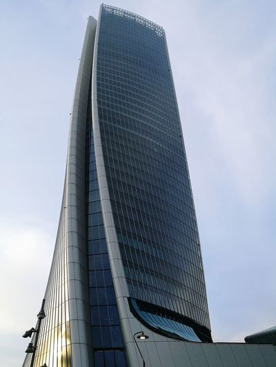 Modern Architecture Architecture Modern Building Building Exterior Futuristic Modern Steel Skyscraper City Water Business Finance And Industry Architecture Sky Built Structure Pyramid Shape Pyramid Tall - High Tower Financial District  Television Tower Triangle Shape