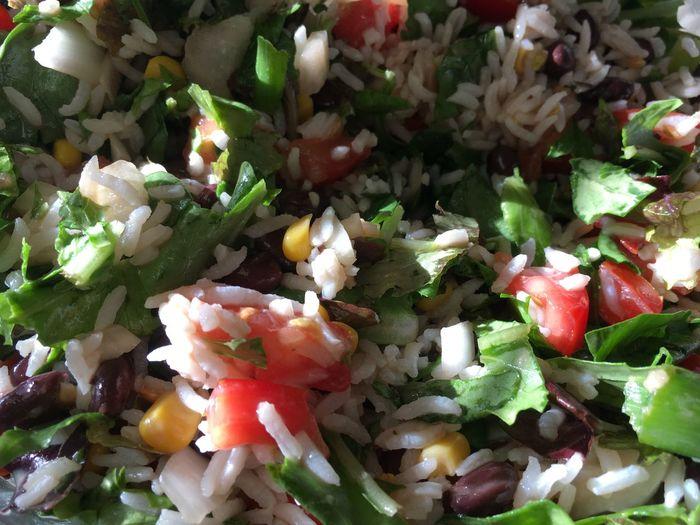 Salad Rice Salad Rice Summer Food
