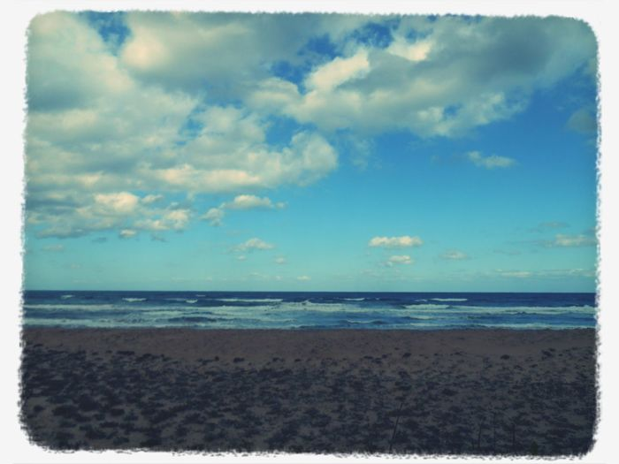 岡垣海岸 Seascape 冬になりかけの海♪(´ω`)