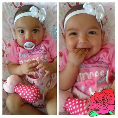 Can I just point out how Cute Baby Bella looks??❤? Niece  Bby Bella Cutie