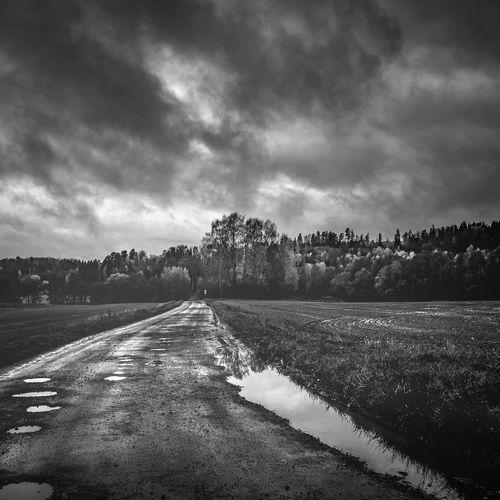 Dark and gloomy