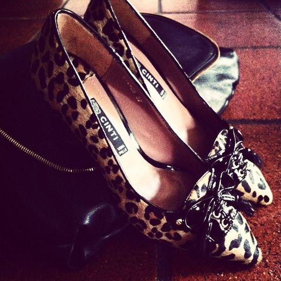 Shoes Fashion Pelle Animalier Zainetto Fw2015 Italianfashion Postina Laporteròcomepochette Kittenheel Cintionline