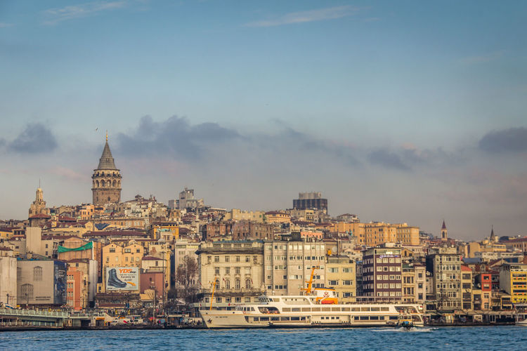 Very nice view of Istanbul Istanbul Istanbul Turkey Turkey Building Exterior Built Structure Architecture Water Sky Building City Nature Waterfront Cloud - Sky Residential District Cityscape Travel Destinations No People River Transportation Religion Nautical Vessel Outdoors