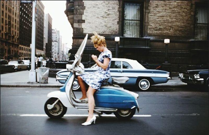 Woman EyeEm Woman Pretty Woman Motorcycle WomanCrushEveryday Blondie Bluetastic Beautiful View Street Art Streetphotography