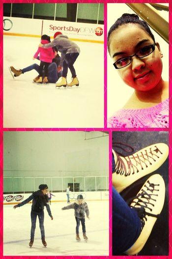 Ice Skating ❄ Yesterday