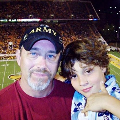 Daddy And Son Memories ❤ Alabama Game Bonding Time My Men From My Point Of View EyeEm Best Shots