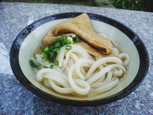 udon Noodles Udon Noodles Food And Drink Freshness Food Indoors  Ready-to-eat Healthy Eating No People Close-up Table Serving Size Bowl Day