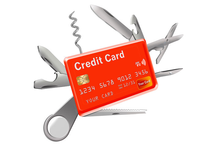 A credit card that does everything and has all the features desired is represented by a credit card that looks like a multi-tool army knife. Features Army Knife Blades Card Corkscrew Credit Card Credit Cards Desireabletraits Does Everythin Multi-tool