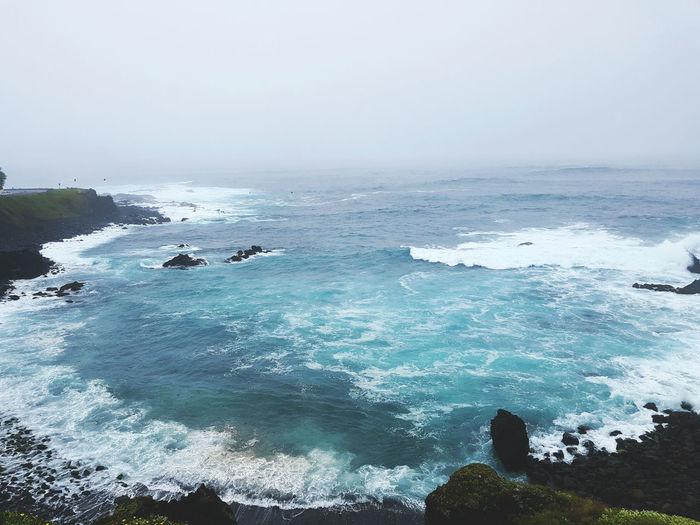 Sao Miguel island, Azores Azores Azores Islands Açores Açores - São Miguel Cloudy Dramatic Ocean Dramatic Sky At Azores, S. Miguel Blue Horizon Over Water Landscape Nature No People Ocean Outdoors Rock - Object Rocks Volcanic Landscape Volcanic Rocks Water