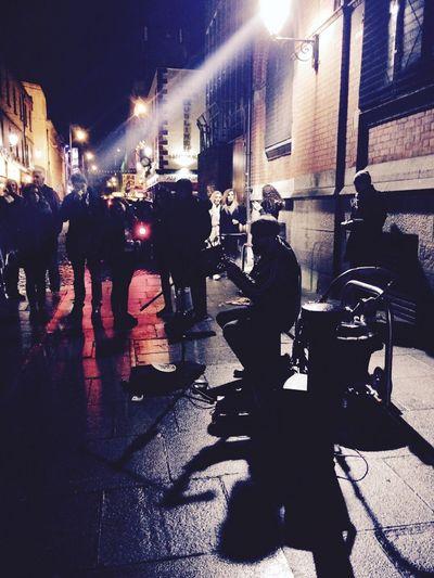 Dublinlin City] Livee Music Magic Dublin Street Photography Musician Weekend Activities