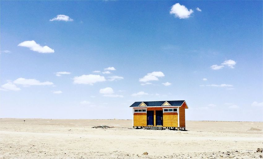 Lonely house. Black And White Photography Travel Destinations House Lonely House On Mountainside House Plant Land Hut Lifeguard Hut Cloud - Sky Sky Nature Beach Built Structure Lifeguard  Sunlight No People Outdoors #NotYourCliche Love Letter