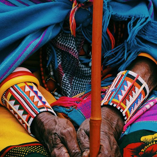 Textile Human Body Part Adult Women People Multi Colored Outdoors Close-up Human Hand Maasai People Maasai Shuka Maasai Wear Maasaiwoman EyeEmNewHere
